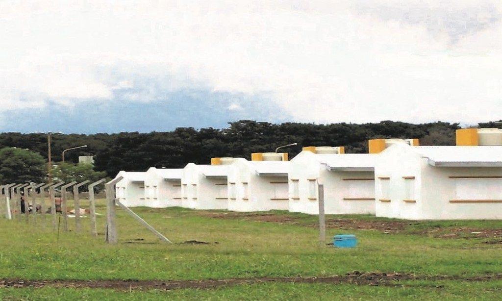 El sector del predio penitenciario de donde se escapó Agüero.