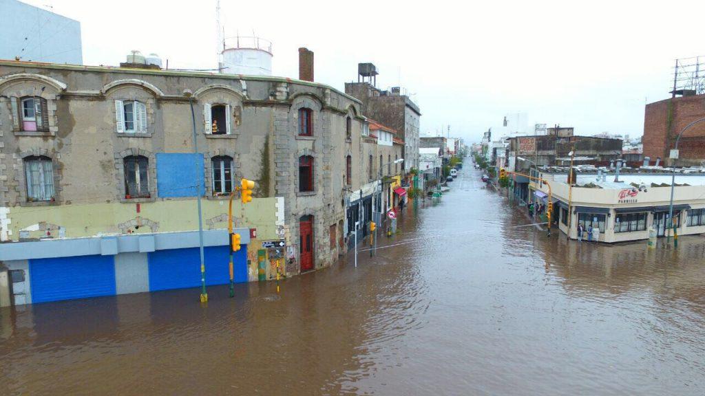 Resultado de imagen para mar del plata inundada