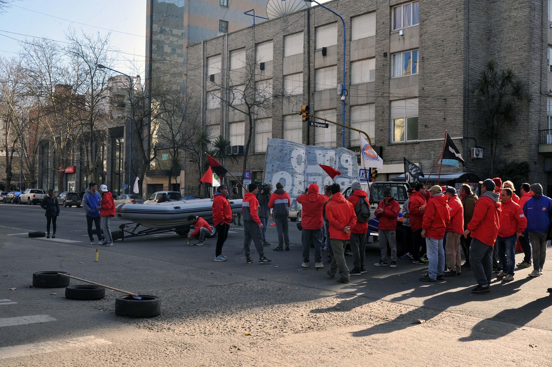 Se levantaron los dos acampes de protesta