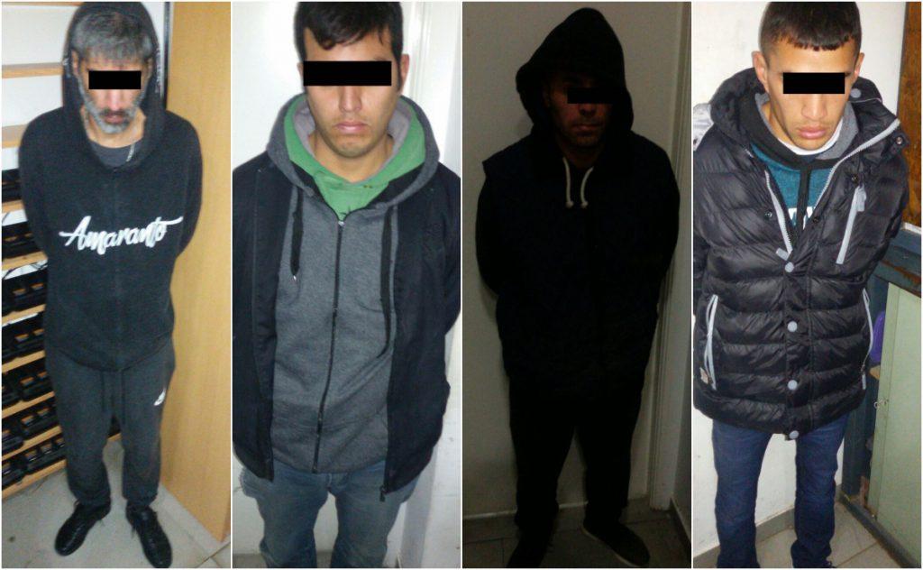 """Los cuatro integrantes de la banda de los """"marplatenses"""" fueron detenidos."""