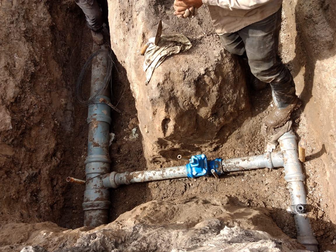 Vecinos de Jardín de Stella Maris ya pueden conectarse a la nueva red de agua