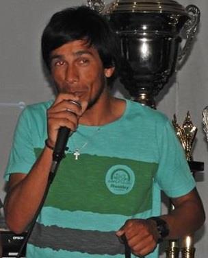 Lucas Sosa, el profesor desaparecido.