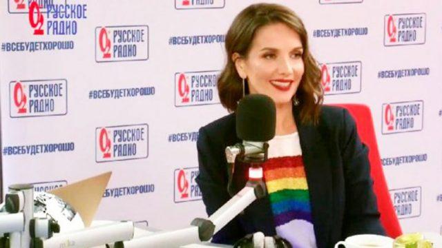 Natalia Oreiro desafió la ley anti propaganda homosexual en Rusia