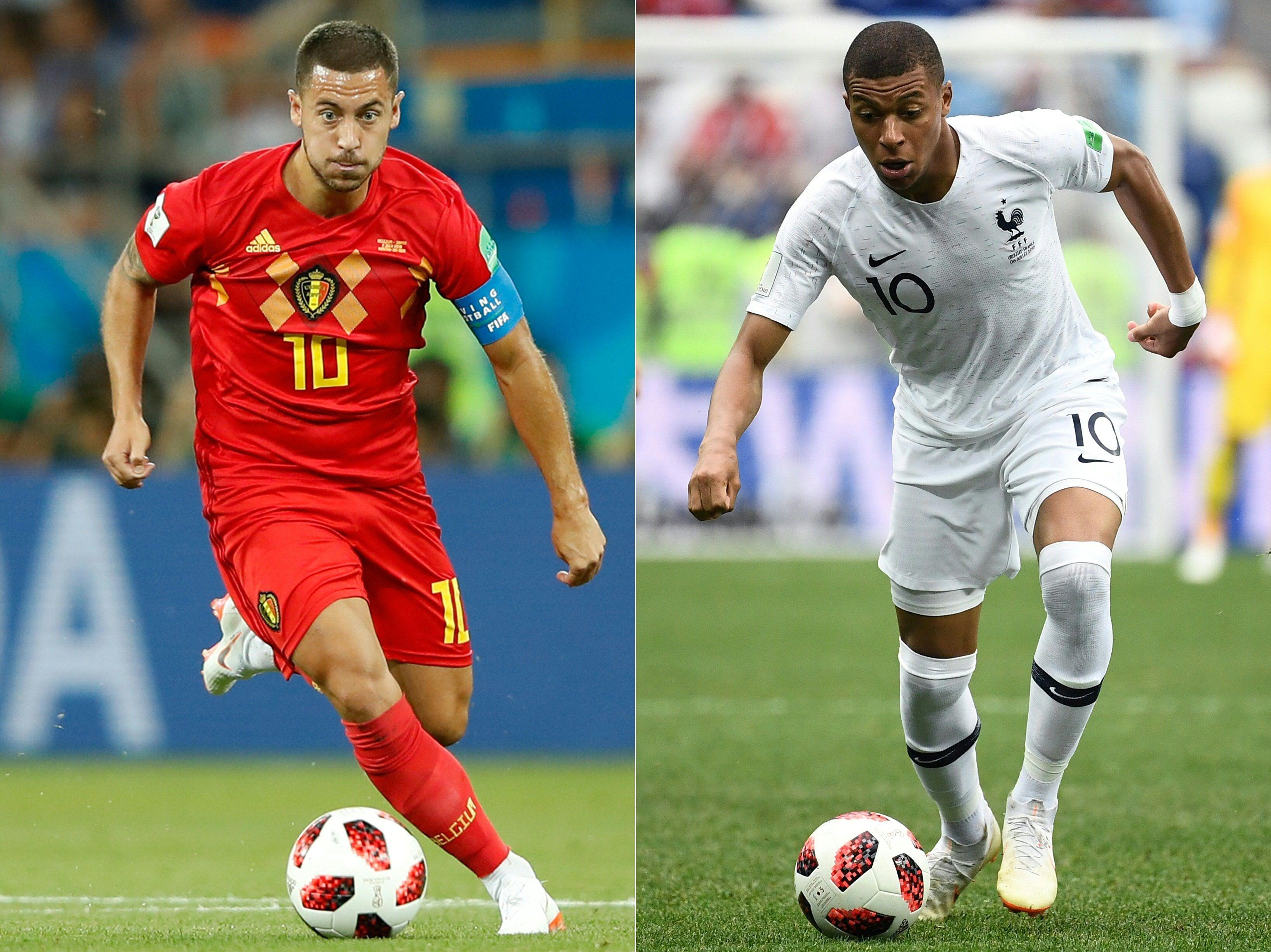 Francia y Bélgica, entre la historia y la leyenda, van por la final en Rusia