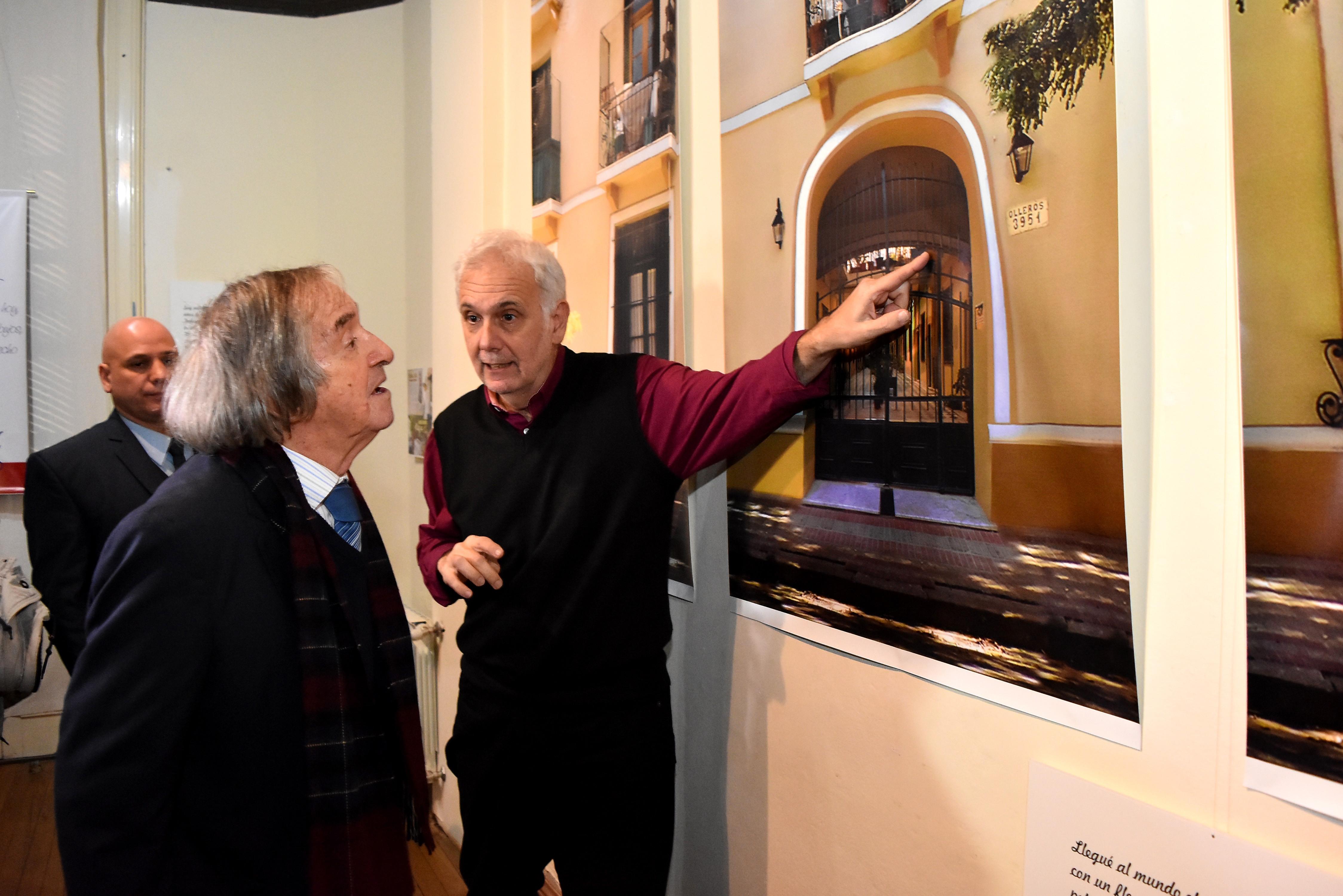 Inauguraron la muestra homenaje a Carlitos Balá