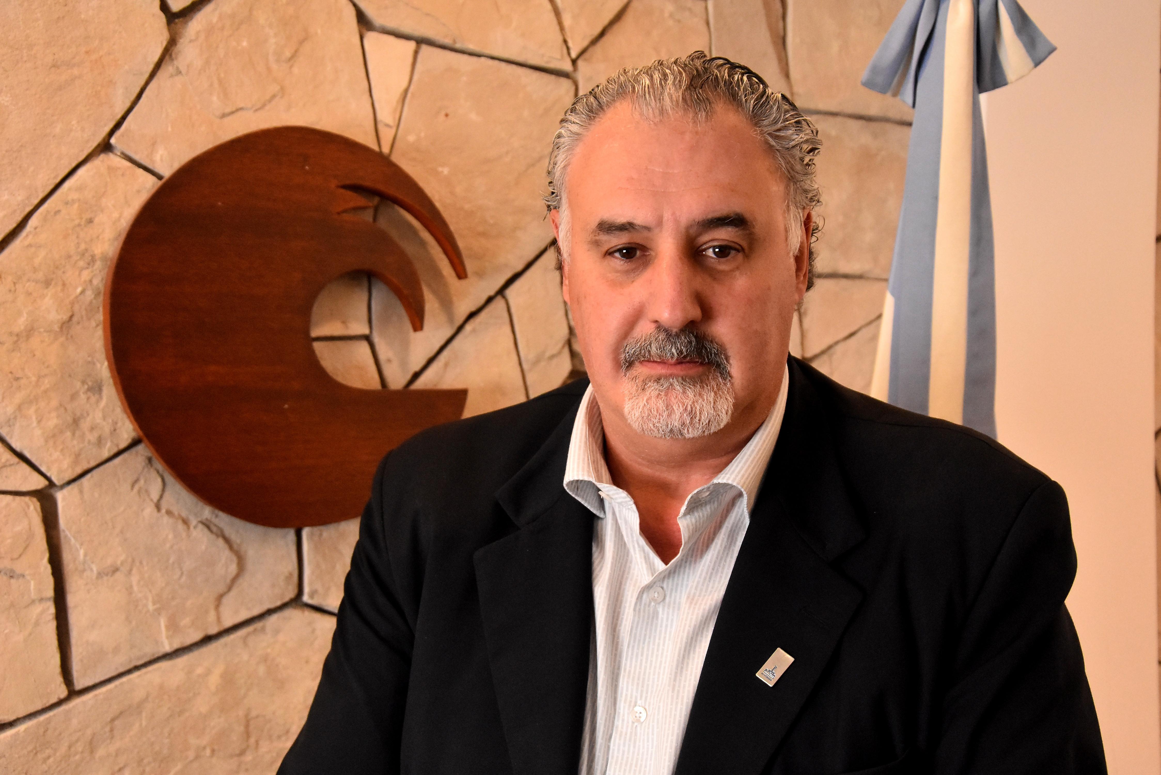 Alfredo Lazzeretti, rector de la Universidad Nacional de Mar del Plata.