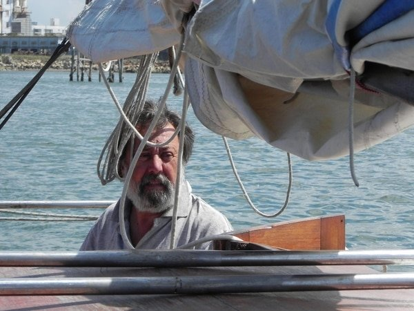 Apareció el velero
