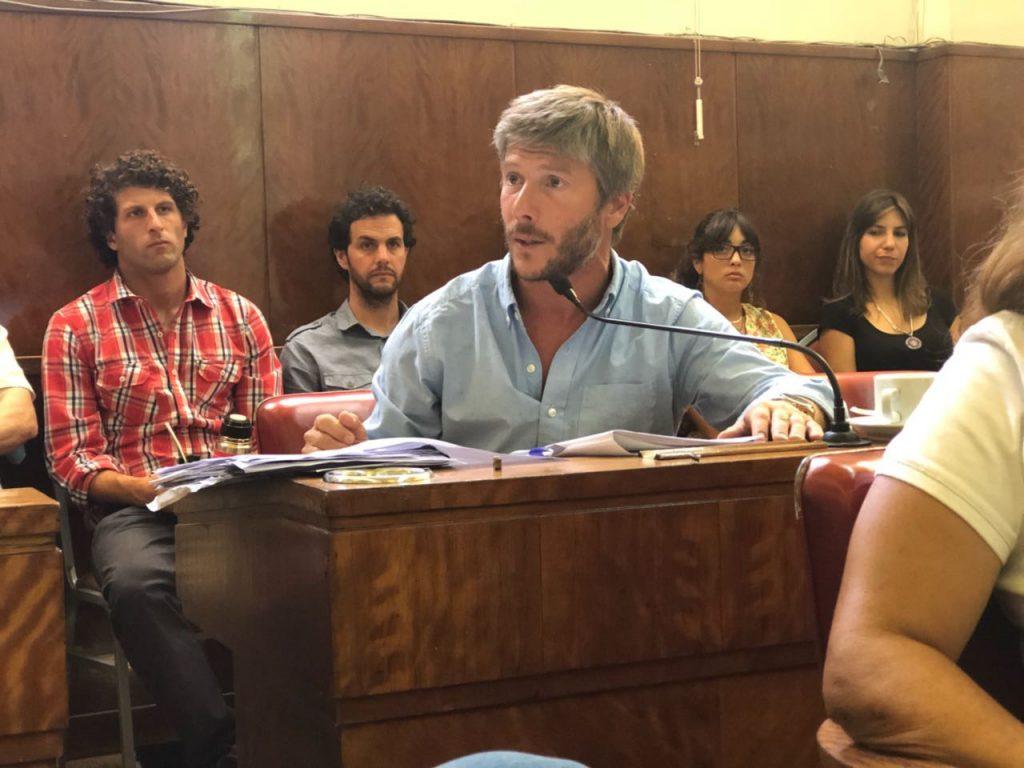 Concejal Santiago Bonifatti.