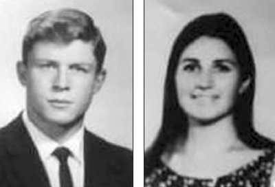 Carlos Alberto Tellez. Era veterinario. Tenía 34 años. Antonia Margarita Fernández, esposa de Tellez. Era profesora de educación física.