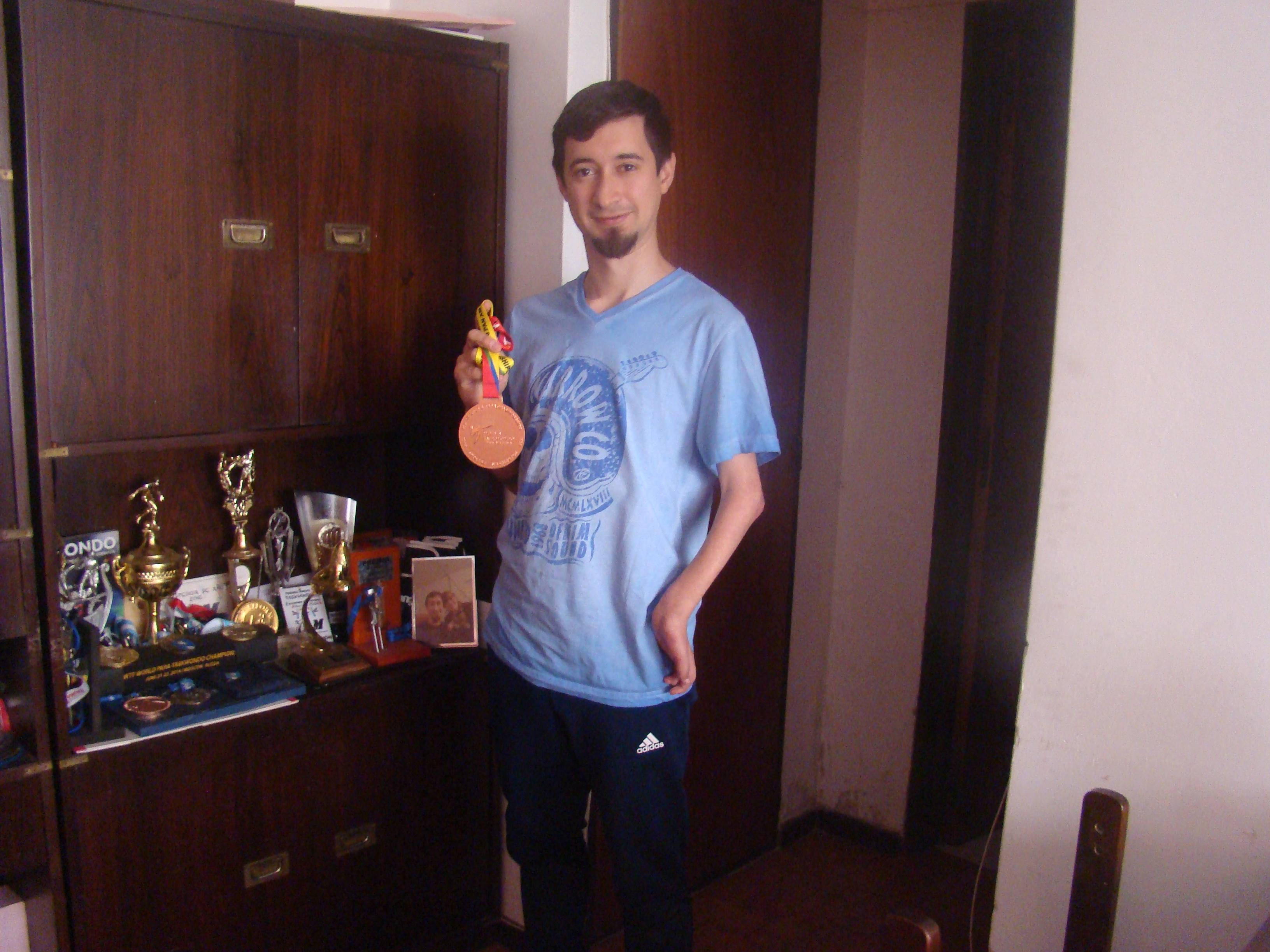 Facundo Novik, el héroe silencioso de las tres medallas panamericanas de parataekwondo
