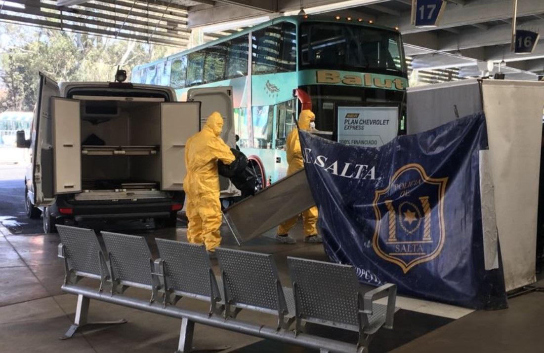 Un marplatense murió en la terminal de Salta