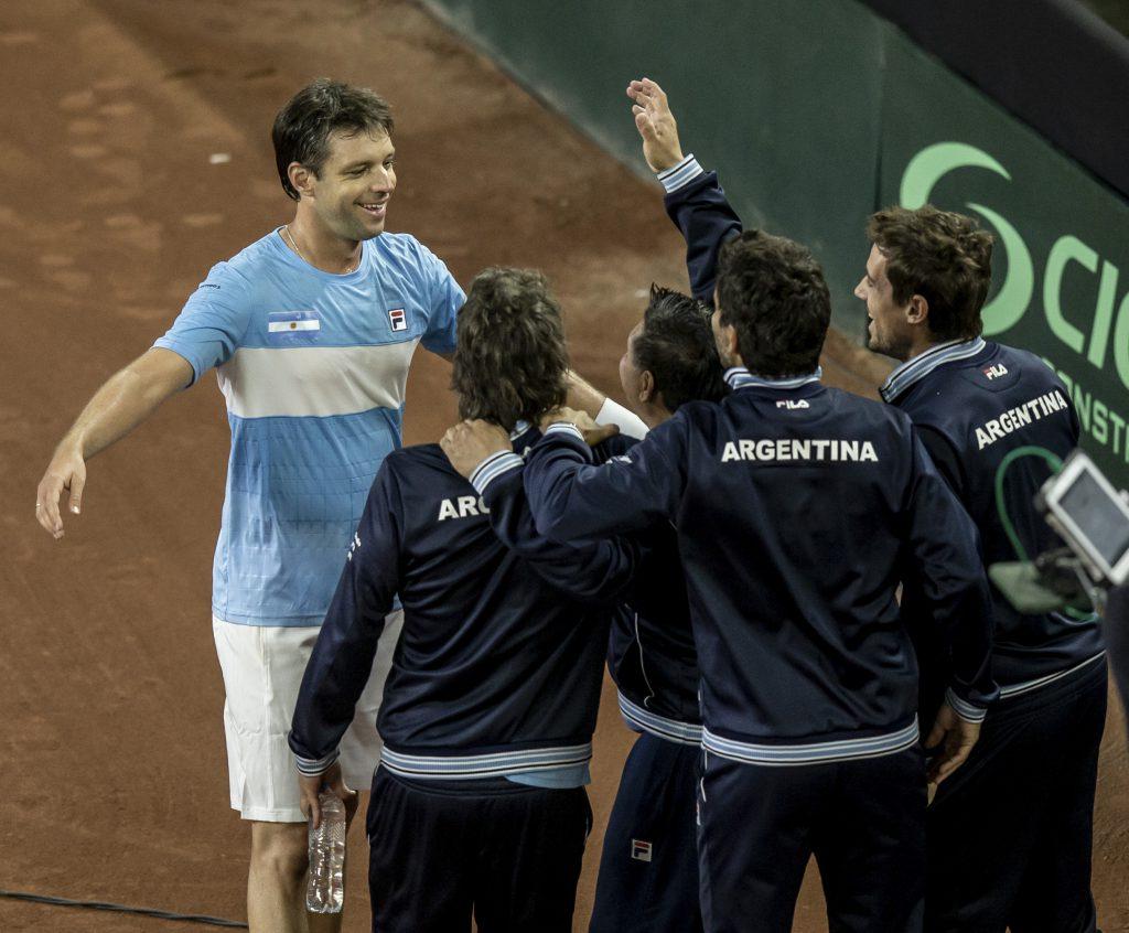 Ya se palpita la serie frente a Colombia — Copa Davis