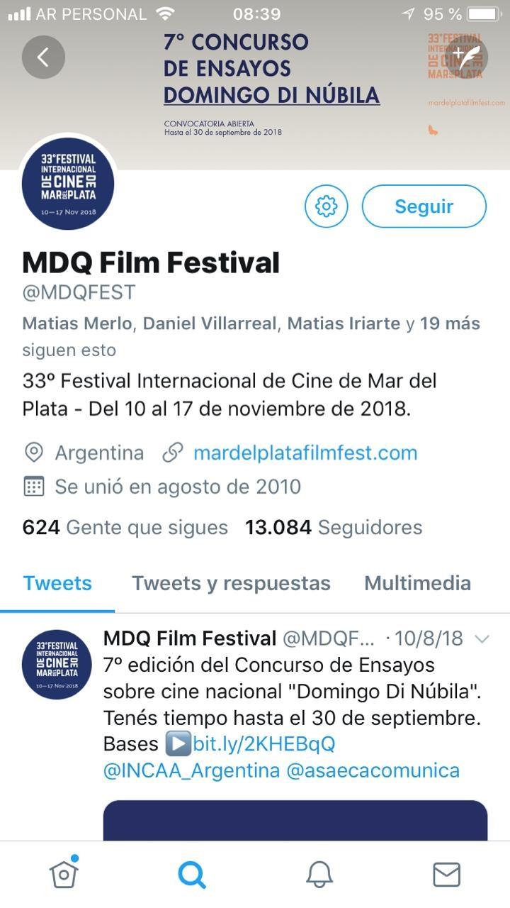 Festival oficial