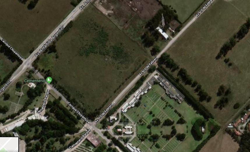 Imagen satelital de los terrenos comprados por la dirigencia de Aldosivi.