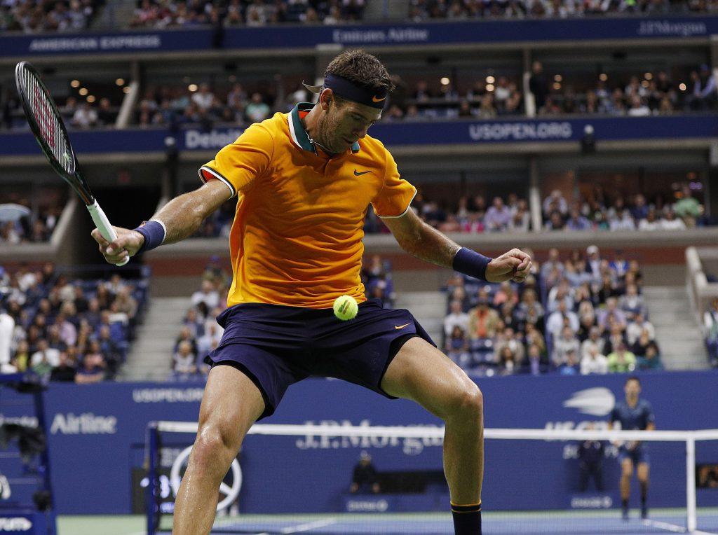 Lesión de Rafa Nadal ante Del Potro en Semifinales del US Open