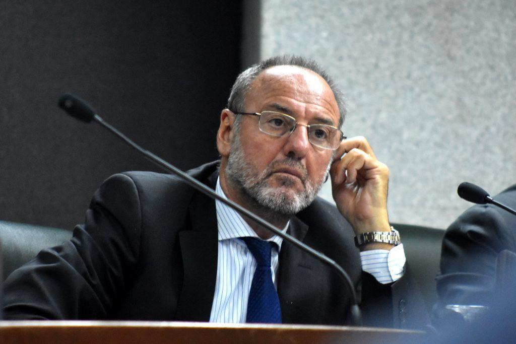 El juez Roberto Falcone.