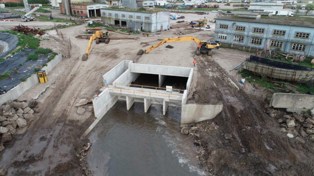 La obra del arroyo Del Barco