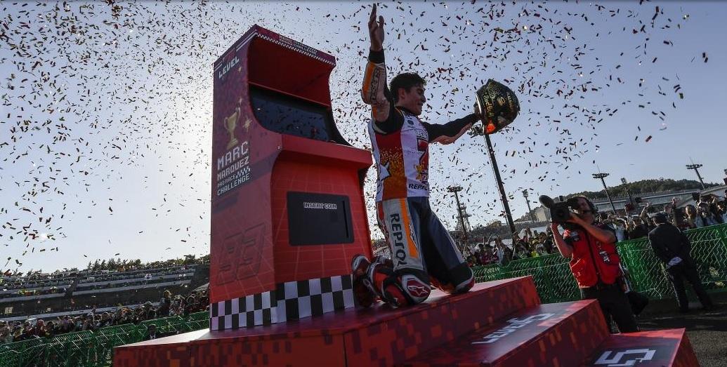 Victoria y quinto título para Márquez en el MotoGP