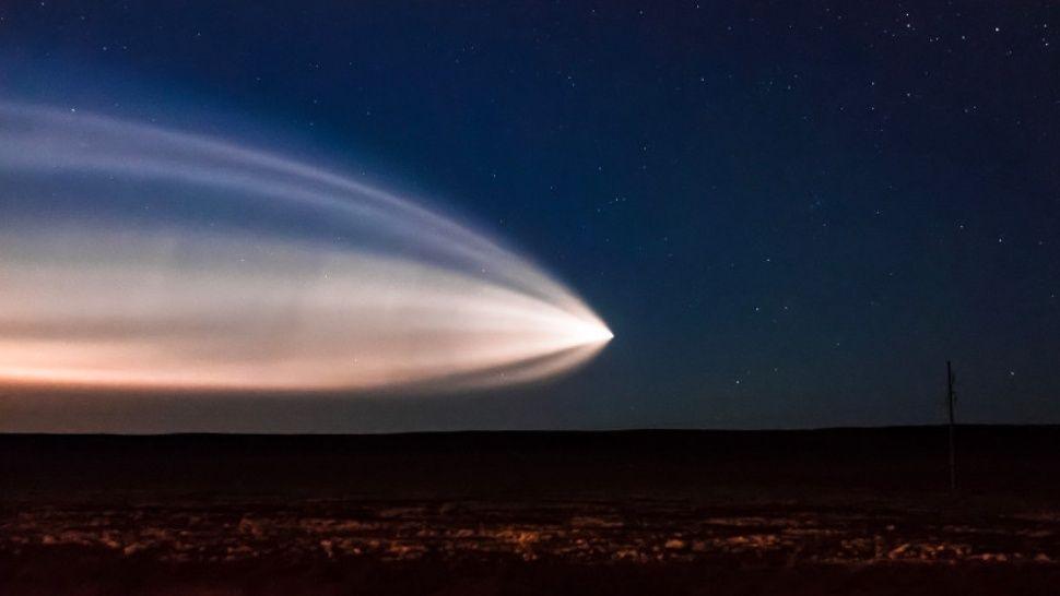 Conmoción por la aparición de un OVNI