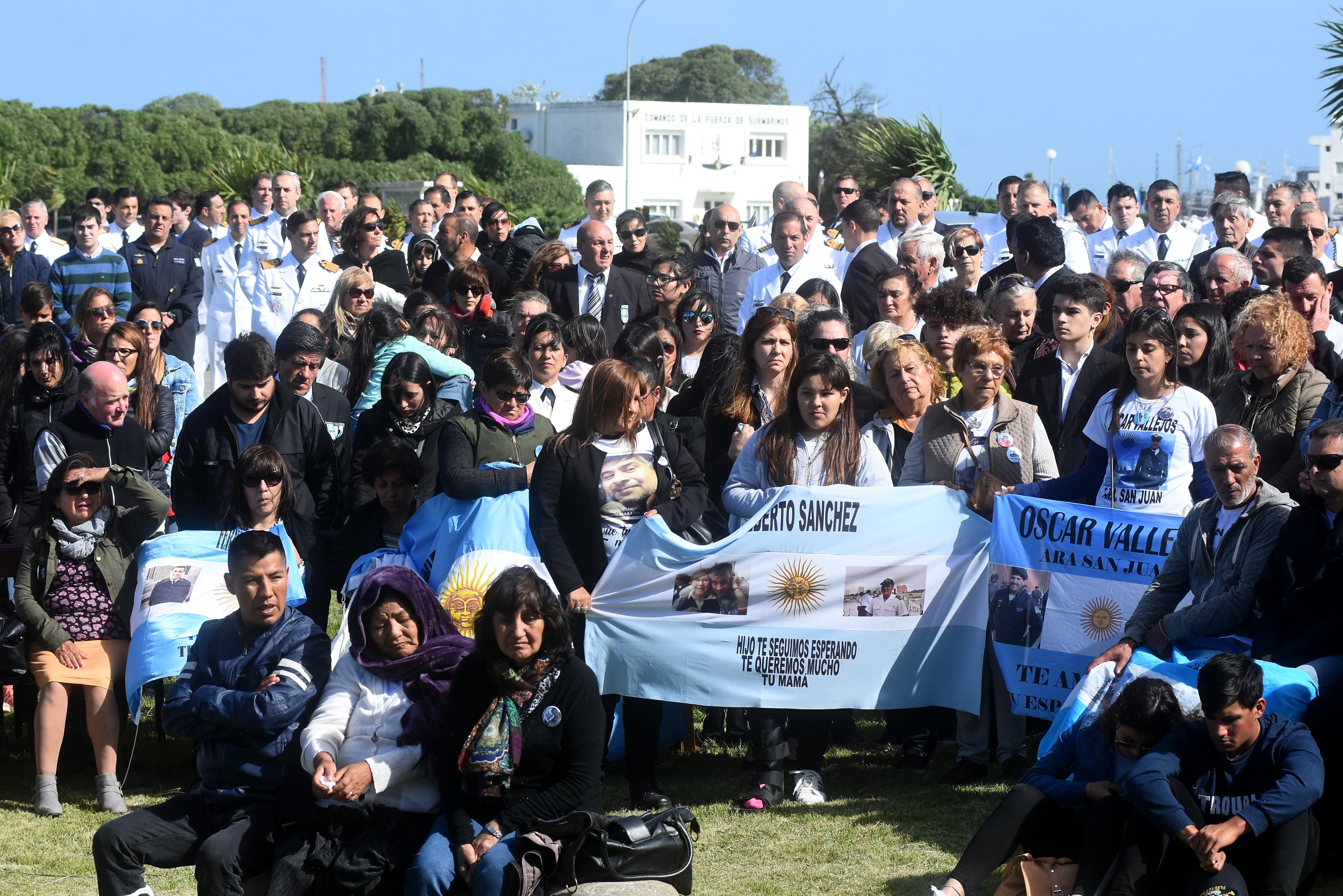 ARA San Juan: los familiares insisten en que siga la búsqueda