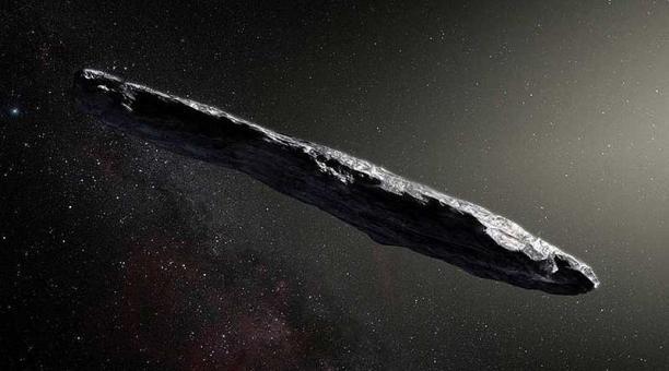 Creen que el misterioso asteroide Oumuamua es una nave extraterrestre