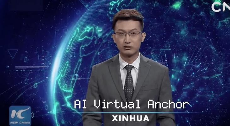 Resultado de imagen para Los robots virtuales presentan los informativos en China