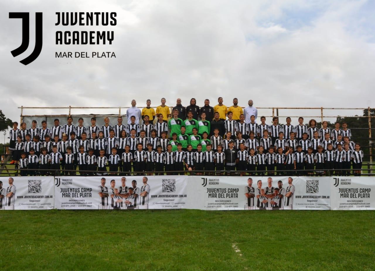 El centenar de pibes marplatenses que jugó para Juventus