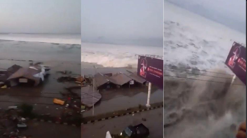 Confirmaron que hay 20 muertos y cientos de heridos por un tsunami en Indonesia
