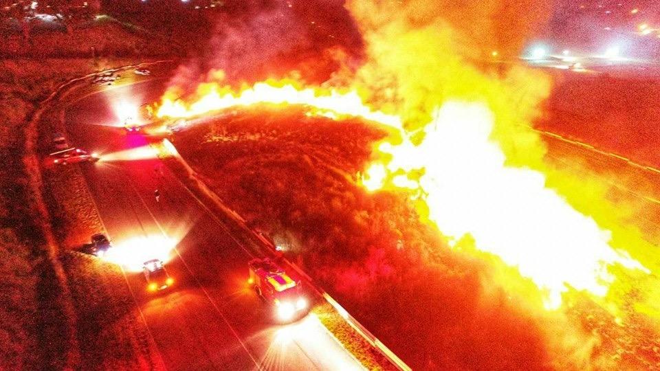 Incendio en el Fangio