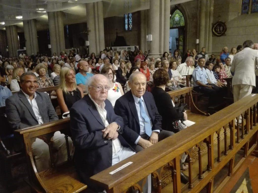El director de LA CAPITAL, Florencio Aldrey, junto al empresario Quique Cabrales.