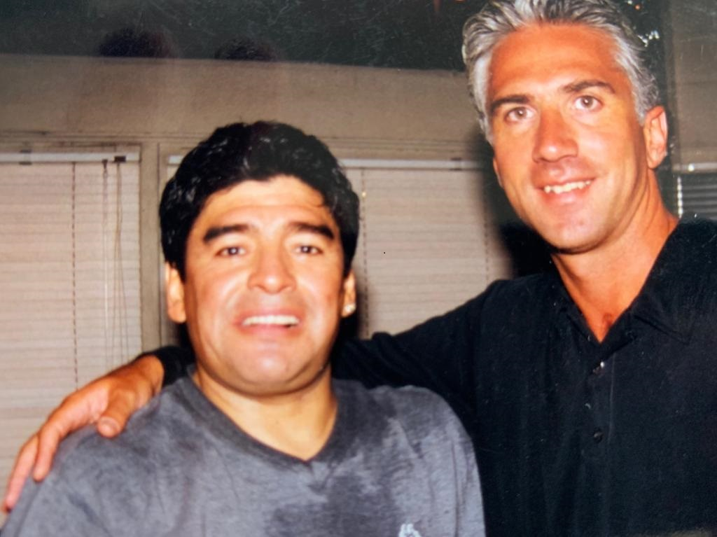 En el boliche La Diosa, en 1999.