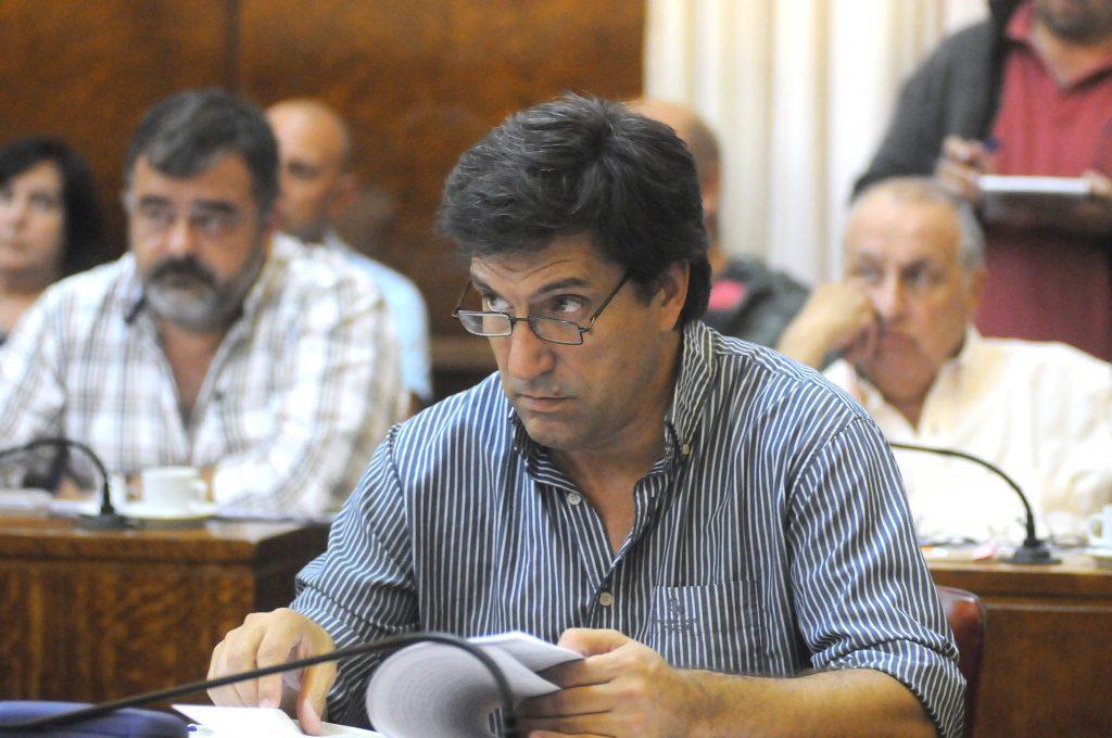 Mario Rodríguez, concejal de la UCR.