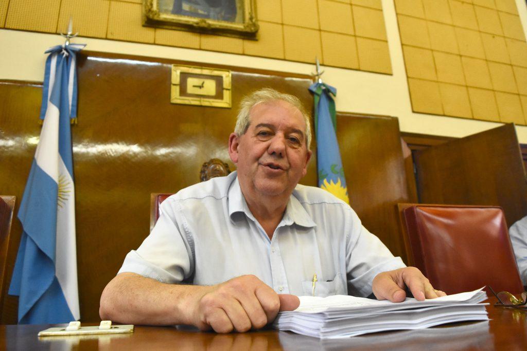 Guillermo Sáenz Saralegui, presidente del Concejo Deliberante.