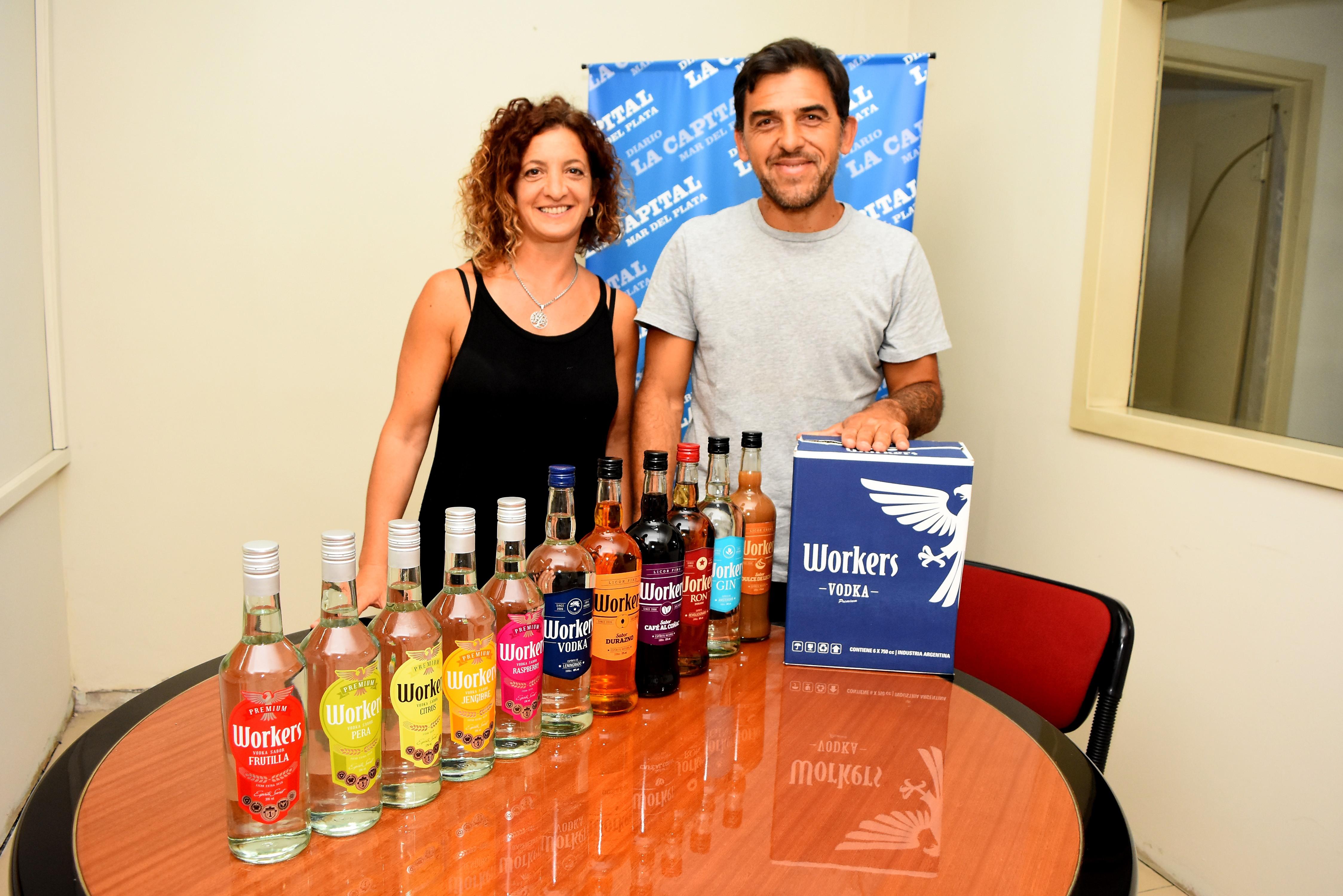 Distintas bebidas alcohólicas son destiladas en la ciudad