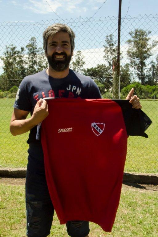 Diego Villar empezó a entrenar para darse el lujo de jugar para Independiente, el club que lo vio nacer futbolísticamente.
