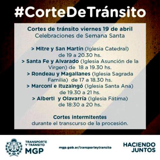 Corte de Transito - MGP