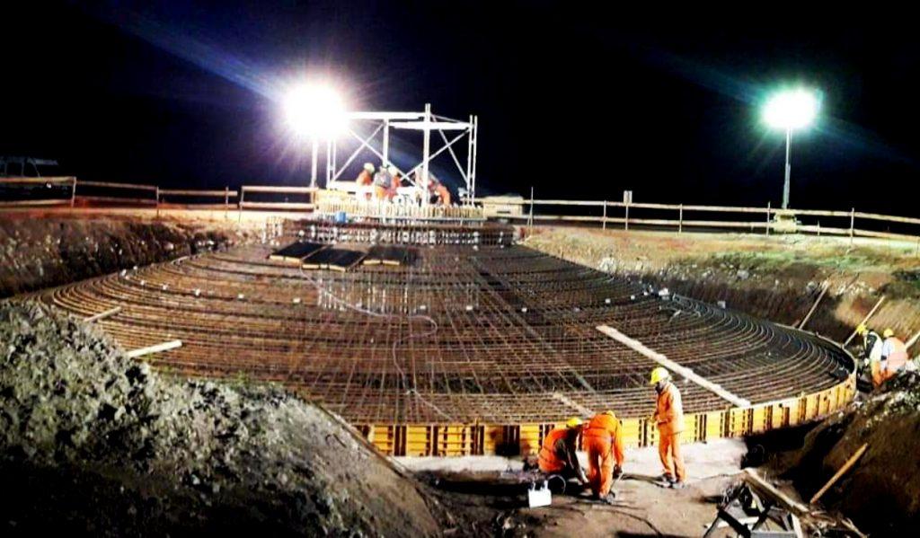 Resultado de imagen para Avanza la construcción del Parque Eólico Vientos de Miramar
