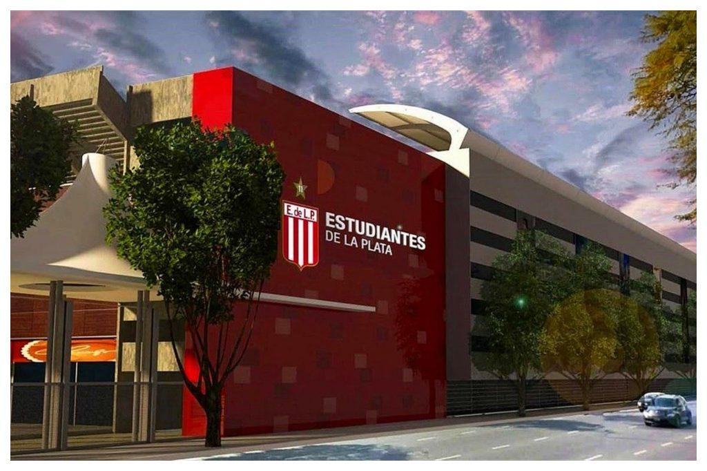 Verón anunció la inauguración del nuevo estadio de Estudiantes