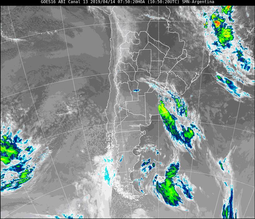 Viernes Santo: baja probabilidad de lloviznas por la mañana, luego nublado