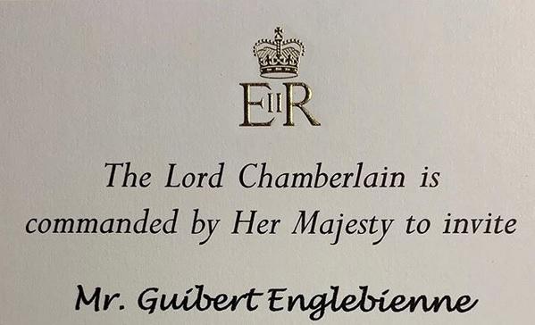 La invitación que recibió el empresario marplatense.