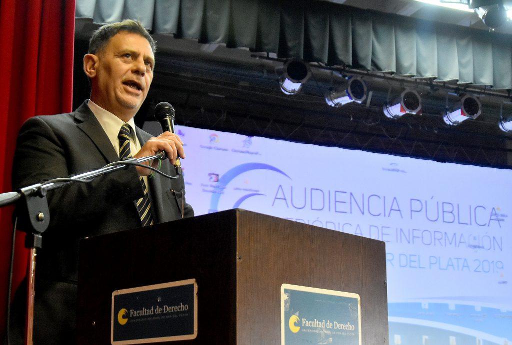 El presidente de la Cámara Federal de Apelaciones de Mar del Plata, Alejandro Tezza