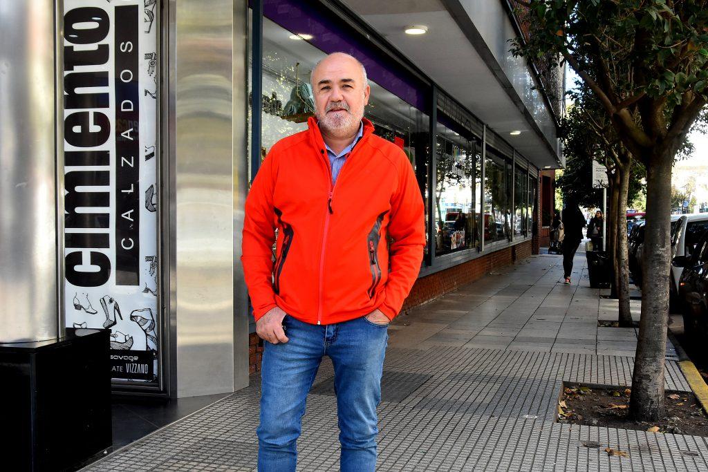 Gustavo Vega, testigo del incendio.