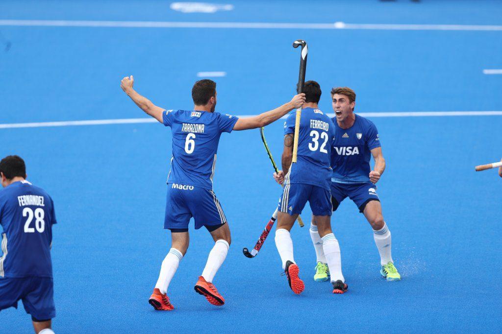 Los Leones derrotaron 3-2 a Gran Bretaña