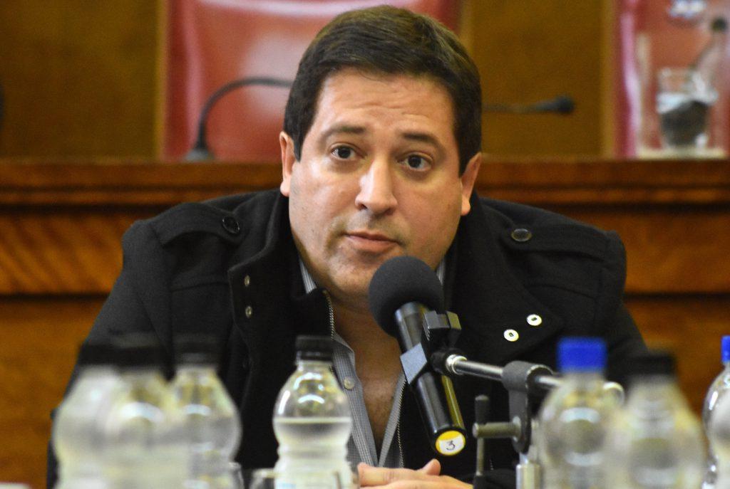 Hernán Mourelle, secretario de Economía y Hacienda del municipio.