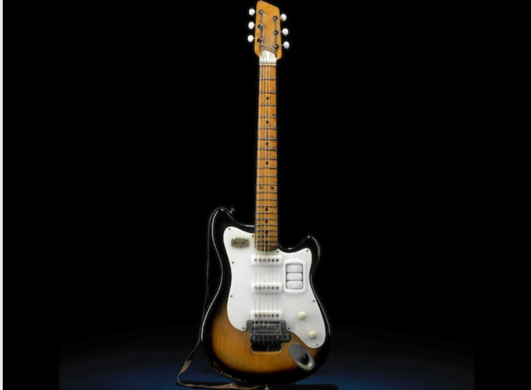Guitarra de 'beatle' a subasta