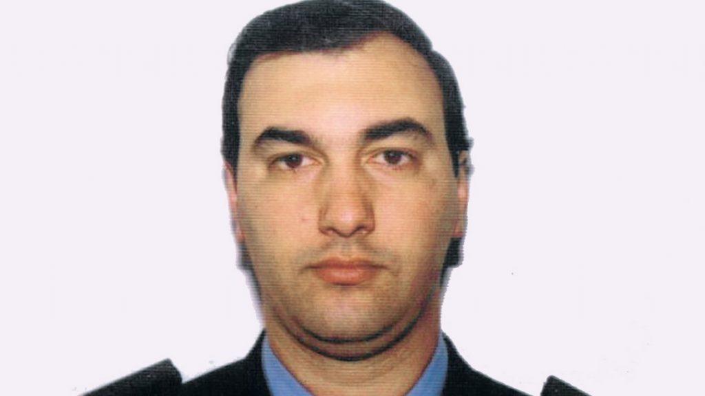 Cristian Agusti, el suboficial de la DDI asesinado a mansalva.