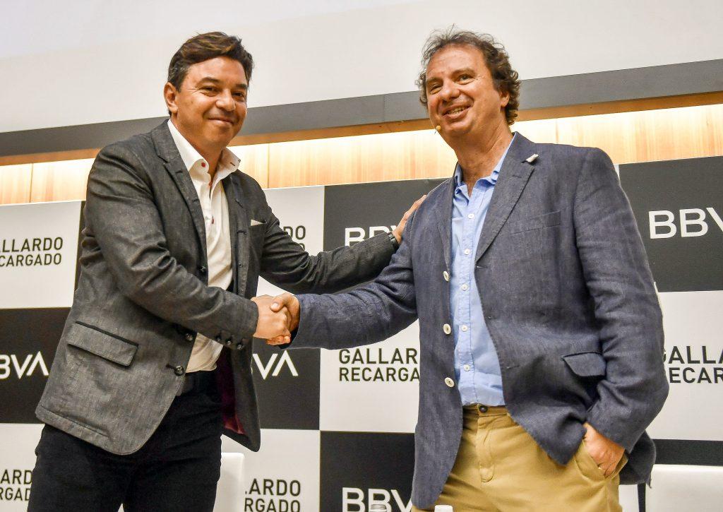 Marcelo Gallardo y Diego Borinsky.