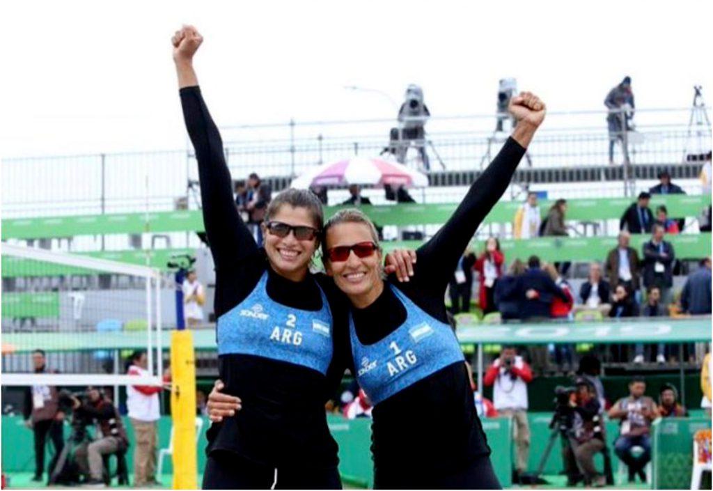 Medalla de plata para Argentina en beach voley femenino