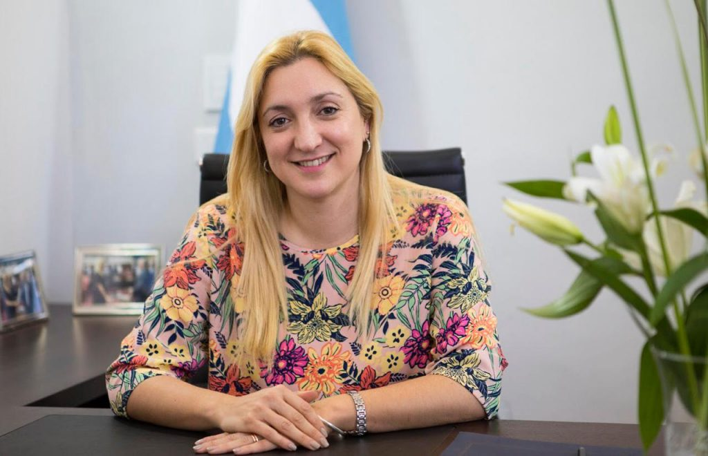Aldana Ahumada, senadora de Juntos por el Cambio.