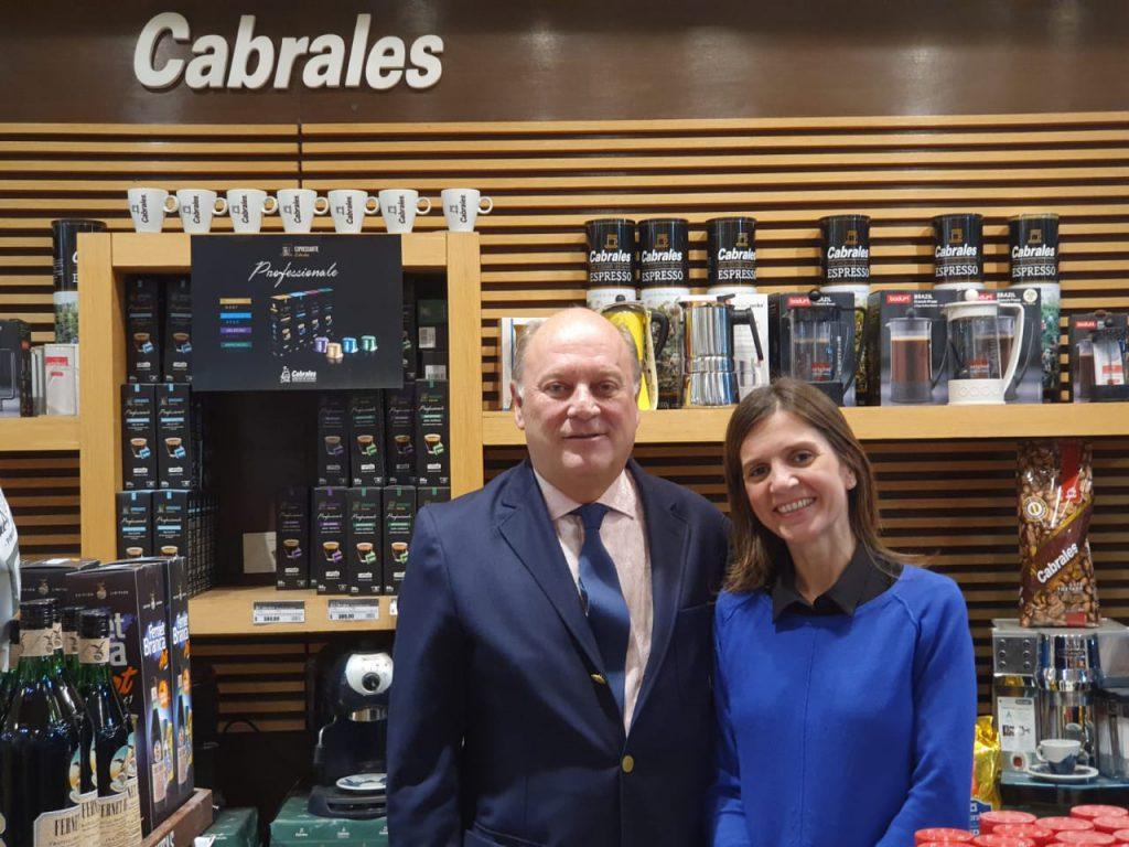Raverta con Martín Cabrales.